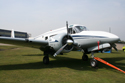 Beechcraft Super 18 at The Gathering of Warbirds & Veterans - Arrivals and Static