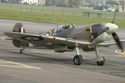Supermarine Spitfire Mk Vb G-MKVB BM597 at The Gathering of Warbirds & Veterans - Arrivals and Static