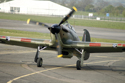 Hawker Hurricane Mk XII G-HURI Z5140 at The Gathering of Warbirds & Veterans - Arrivals and Static