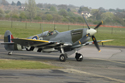 Supermarine Spitfire Mk IX G-IXCC PL344 at The Gathering of Warbirds & Veterans - Arrivals and Static