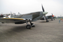 World War II fighter plane props line up at The Gathering of Warbirds & Veterans - Arrivals and Static