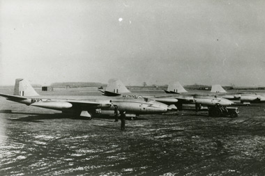 English Electric Canberras of 27 Squadron at RAF Waddington