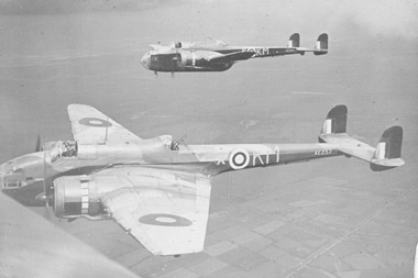 Handley Page HP.52 Hampdens of 44 Squadron