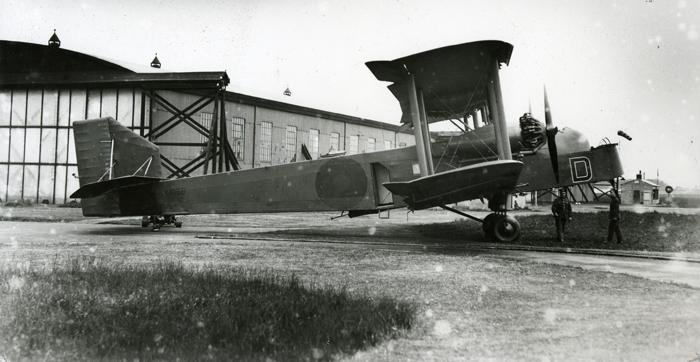 Handley Page Hinaidi in 1934