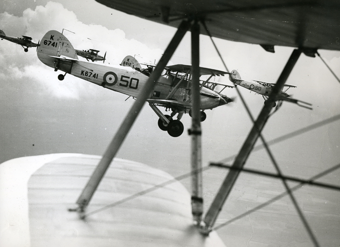 Hawker Hinds of 50 Squadron