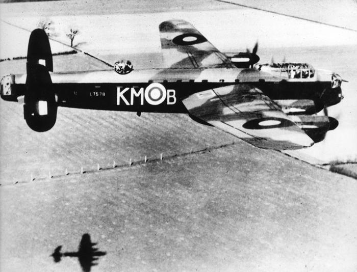 Avro Lancaster L7578 (KM-B) of 44 Squadron. Image courtesy of RAF Waddington Heritage Centre - Crown Copyright