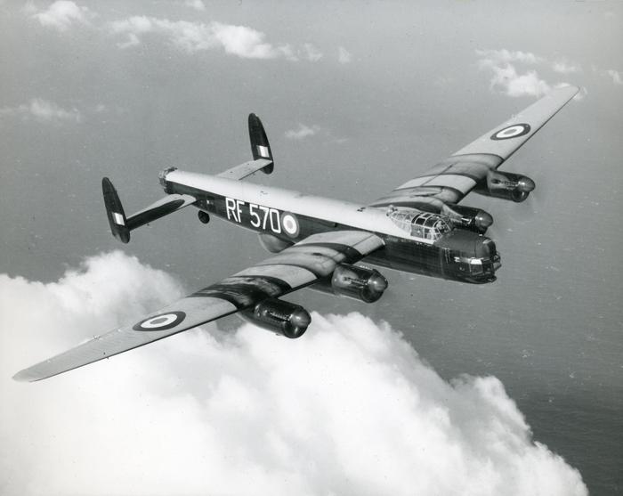 Avro Lincoln RF 570. Image courtesy of RAF Waddington Heritage Centre - Crown Copyright