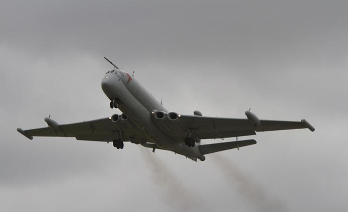 Hawker Siddeley Nimrod MR2 XV249. Image courtesy of Ian Bracegirdle