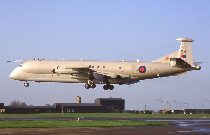 Hawker Siddeley Nimrod R1 XW664. Image courtesy of Adrian M. Balch