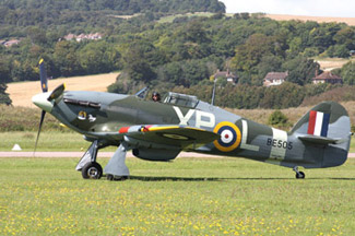 Hawker Hurricane Mk IIB G-HHII BE505 Hurribomber