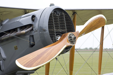 Bristol F.2B Fighter G-AEPH/D8096/D wooden propeller