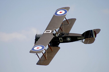Bristol F.2B Fighter G-AEPH/D8096/D at Old Warden Air Show 2007