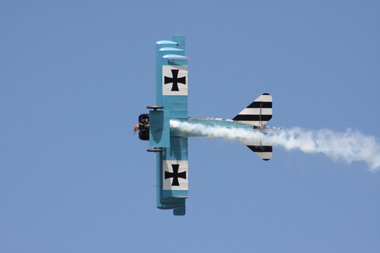 Fokker Dr.I Triplane (replica) PFA 238-14043 G-CDXR/403/17 at Shoreham Air show 2009