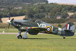 Hawker Hurricane Mk IIB G-HHII BE505 (XP-L) Hurribomber
