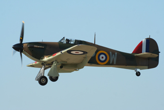 Hawker Hurricane Mk I G-HUPW R4118 (UP-W)