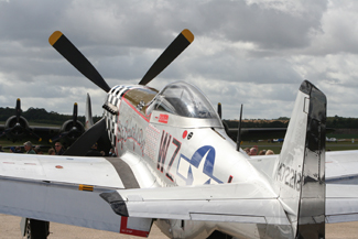 North American Aviation P-51D-A68-192 Mustang G-HAEC 472218 (WZ-I) Big Beautiful Doll