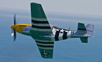 North American Aviation P-51D-25NA Mustang G-BTCD 44-73419 (B7-H) Ferocious Frankie