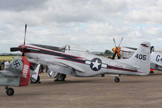 North American Aviation P-51D Mustang (Cavalier F-51D) SE-BIL NL405HC 44-10753a It's about time