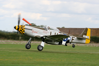 North American Aviation P-51D-25-NT Mustang G-MSTG 414419 (LH-F) Janie