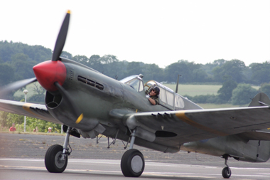 Curtiss P-40M-10CU Kittyhawk G-KITT 43-5802 at Biggin Hill International Air Fair 2009